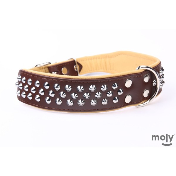 COLLAR PIEL LUXURY CLAVO 75 CM