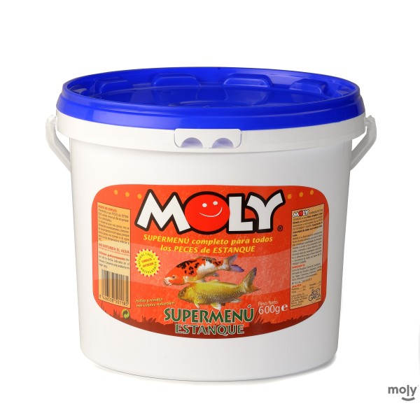 MOLY SUPER-MENU ESTANQUE 600 GR