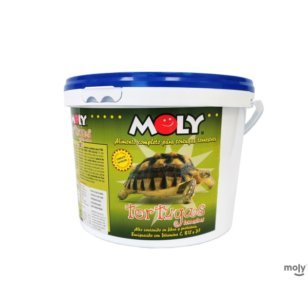 MOLY TORTUGAS TERRESTRES 3 KG