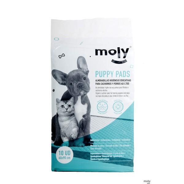MOLY PUPPY PADS GRAND. 60 X 90 CM 10 PCS