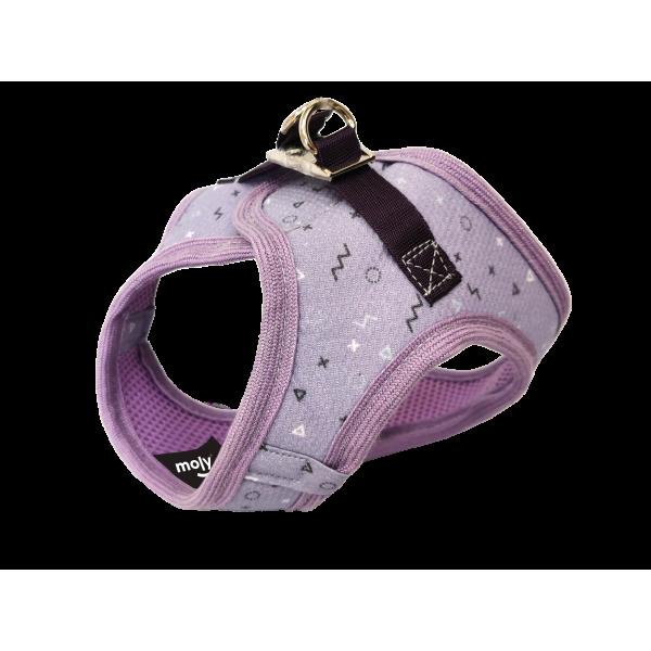 CHALECO 3D MOLY LILA T-XXS